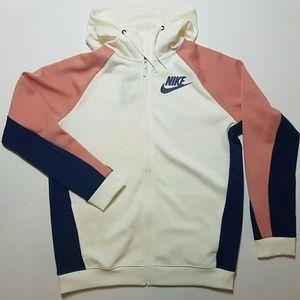 Nike Hoodie Zipup Offwhitebluepink Nwt